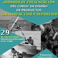 Jornada presentación Curso Diseño de Productos de Turismo Activo y Deportivo
