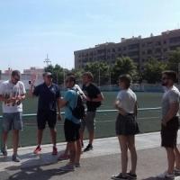 Alumnos de la XII Edición visitaron el Polideportivo Municipal de Aldaia y la instalación de Rugby del Tramo del Rio de la Fundación Deportiva Municipal de Valencia
